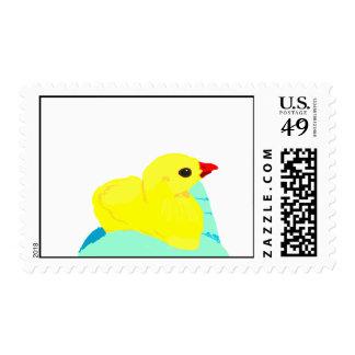 Niño grapic del polluelo de los niños azules franqueo