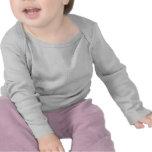 Niño gris Longsleeve de Dist 2-Sided del cráneo Camiseta