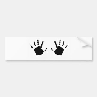 Niño Handprints Pegatina Para Auto