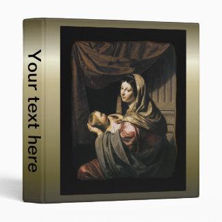 "Niño infantil bendecido Jesús - Bijlert del Virgen Carpeta 1"""