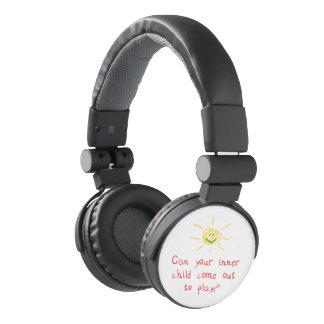 Niño interno auriculares