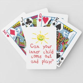 Niño interno cartas de juego