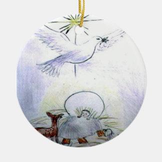 niño Jesús de la paloma Adorno De Reyes