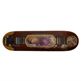 Niño - juguete - pulpo en mi armario skate board