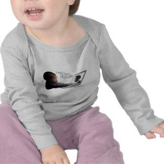 Niño Largo-envuelto Camisetas