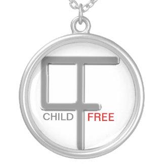 Niño-Libre ninguna pregunta Colgante Redondo