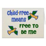 Niño-Libre yo Felicitacion