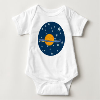 Niño lindo de Saturn Camisetas