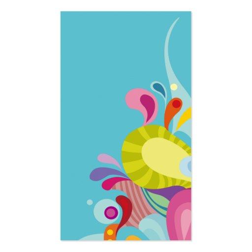 niño lindo y de los asuntos divertidos moderno de  tarjetas personales