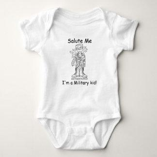 Niño militar militar Onesy del palo de golf (TM) Body Para Bebé