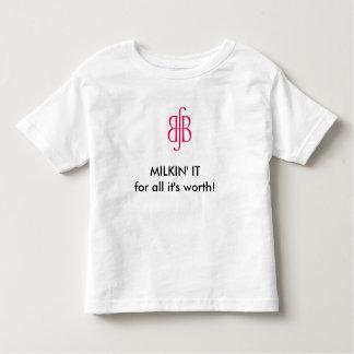 Niño Milkin él camiseta de amamantamiento Remeras