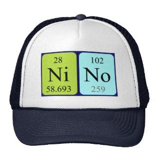 Nino periodic table name hat