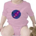 Niño púrpura rosado de Rocket Traje De Bebé