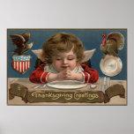 Niño que ruega en la Cena-Tabla Póster