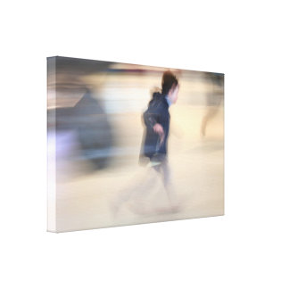 Niño que se escapa de la lona de Beaubourg de la Impresión En Lienzo
