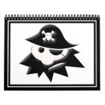 Niño rechoncho del pirata (charla como un día del  calendario