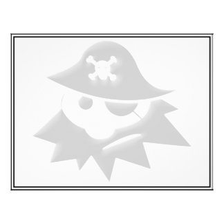 Niño rechoncho del pirata charla como un día del