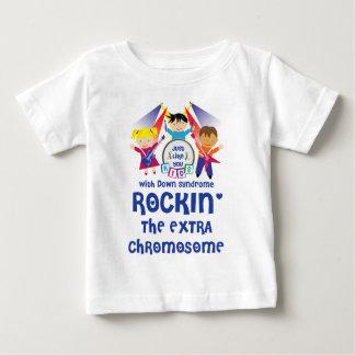 Niño ROCKIN la camiseta adicional del cromosoma Polera