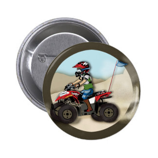 Niño rojo y negro de ATV Pins