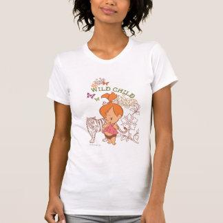 Niño salvaje de PEBBLES™ Camisetas