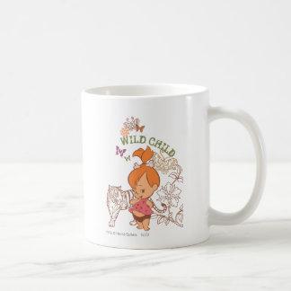 Niño salvaje de PEBBLES™ Taza De Café