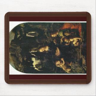Niño St. John de Maria y de Cristo el Bautista com Alfombrilla De Ratones