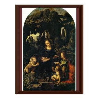 Niño St. John de Maria y de Cristo el Bautista com Postal