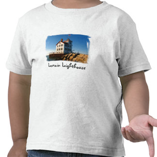Niño T del faro de Lorain Camiseta