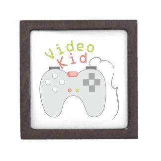 Niño video caja de recuerdo de calidad