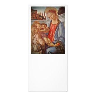 Niño y ángeles de Madonna Cristo Lona