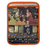 Niño y naranjas funda para iPads