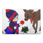niño y reno