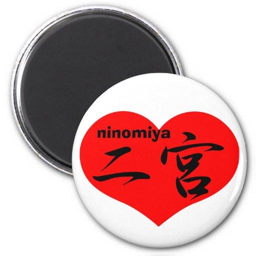 ninomiya imán redondo 5 cm