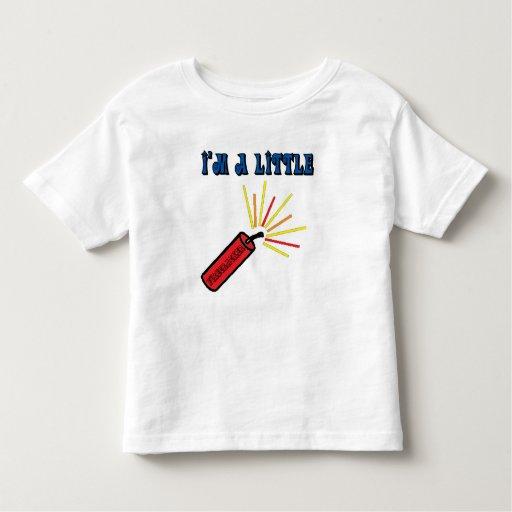 Niños 4tos de las camisetas de julio playera