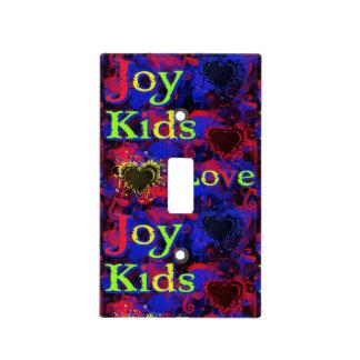 Niños, amor, alegría cubierta para interruptor