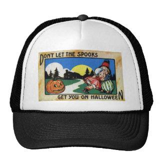 Niños asustados y vintage Halloween de JOL Gorros Bordados