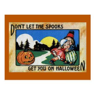 Niños asustados y vintage Halloween de JOL