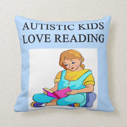 niños autísticos almohada