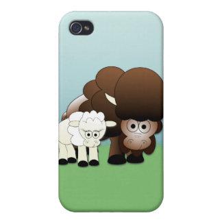 ¡Niños blancos del búfalo iPhone 4 Protectores