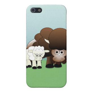 ¡Niños blancos del búfalo iPhone 5 Cobertura