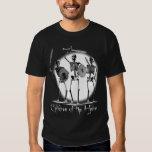 """""""Niños camisetas (oscuras)"""" de los esqueletos del Playeras"""