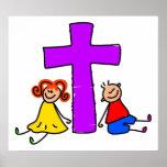 Niños cristianos posters