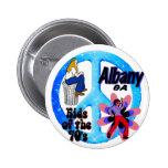 Niños de Albany del botón de los años 70 Pin