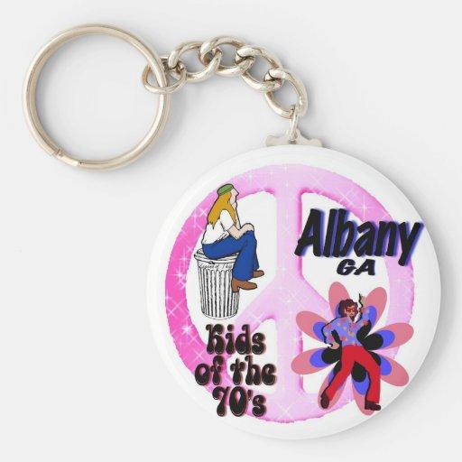 Niños de Albany del llavero de los años 70