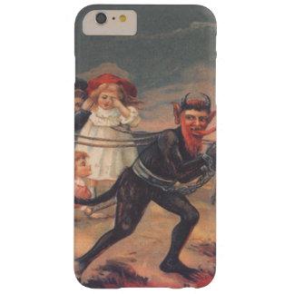 Niños de fricción de Krampus al infierno Funda Barely There iPhone 6 Plus
