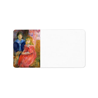 Niños de Gabriel Thomas de Berthe Morisot Etiqueta De Dirección