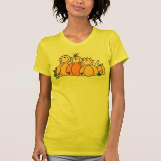 Niños de la calabaza camiseta