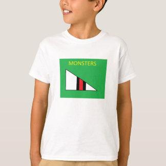 Niños de la camisa del monstruo