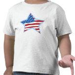 Niños de la estrella de la bandera de los E.E.U.U.