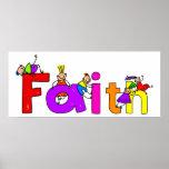 Niños de la fe impresiones